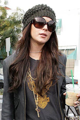 Lindsay-lohan-harley-shirt