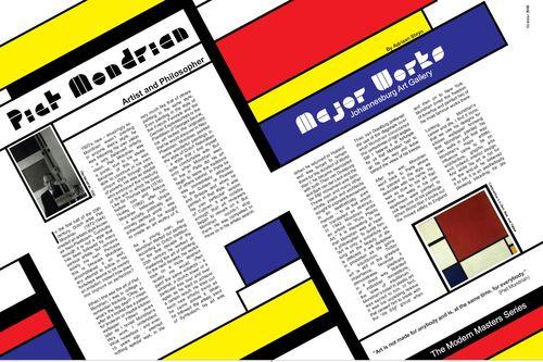 Piet_Mondrian_Magazine_Layout_by_papagaaislaai