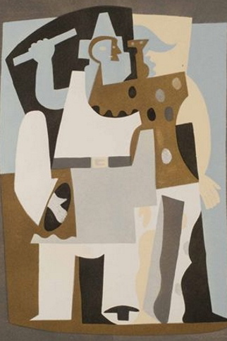 Picasso_Pierrot_as_Orchestra_Conductor