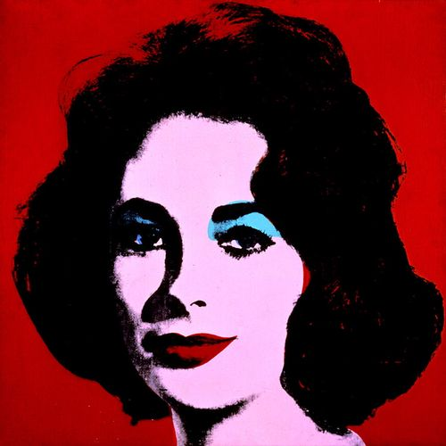 Andy-Warhol-Red-Liz-1962-