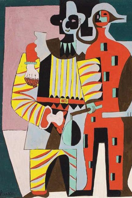 Pablo-Picasso-Pierrot-Harlequin